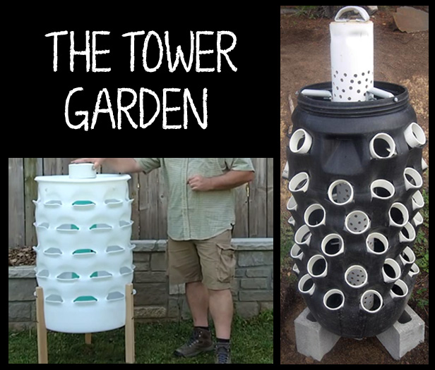 How to Make a Garden Tower from a Barrel | Incredible Tower Garden Ideas For Homesteading In Limited Space