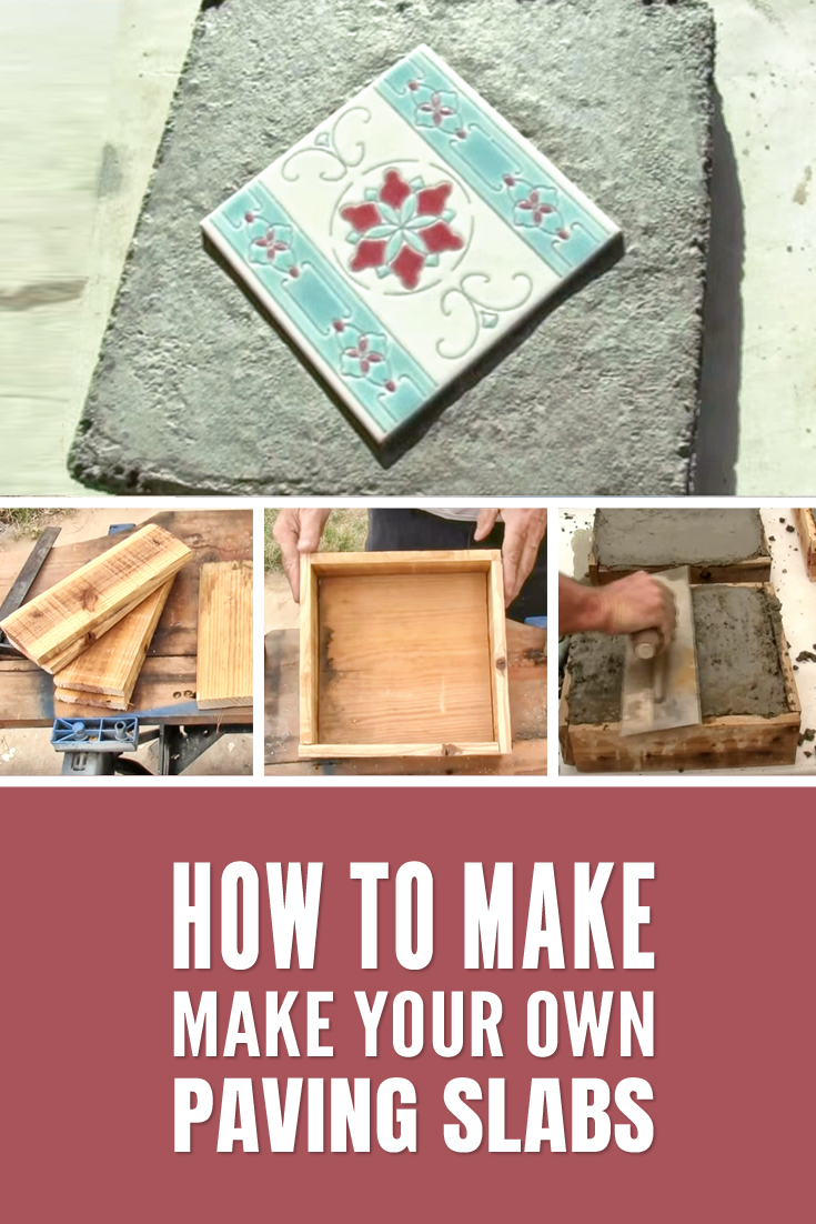 How to make your own paving slabs