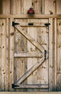 Build your own shed door